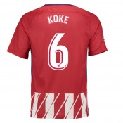 Maillot Atlético Madrid Domicile 2017/2018 Koke Réduction