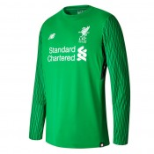 Magasin Maillot Gardien Liverpool 2017/2018 Vert ML Paris