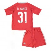 Officielle Maillot Gardien Real Madrid Enfant R.Yanez 2017/2018 Orange