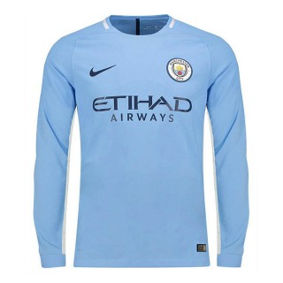 Maillot Manchester City Domicile 2017/2018 ML Boutique France
