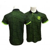 Polo FC Barcelone 2017/2018 Vert Obscure Europe