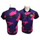 Solde Polo FC Barcelone 2017/2018 Violet Obscure