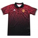 Promotions Polo Manchester United 2017/2018 Noir/Rouge