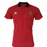 Polo Manchester United 2017/2018 Rouge (col noir) Acheter