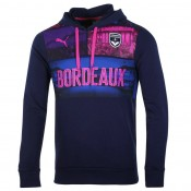 Sweat-Shirt À Capuche Bordeaux 2016/2017 Bleu Officiel