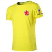 T-Shirt Colombie 2018 Jaune Boutique Paris