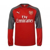 Collection Training Top Arsenal 2017/2018 Rouge Soldes