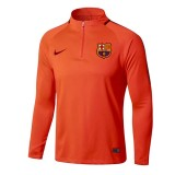 Training Top FC Barcelone 2017/2018 Orange Escompte En Lgine