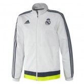 Veste Real Madrid 2015/2016 Blanc France Pas Cher