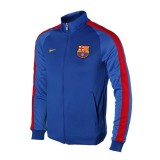 Site Officiel Veste Zip FC Barcelone 2016/2017 Bleu Prix