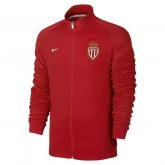 Acheter Veste Zip N98 AS Monaco 2016/2017 Rouge